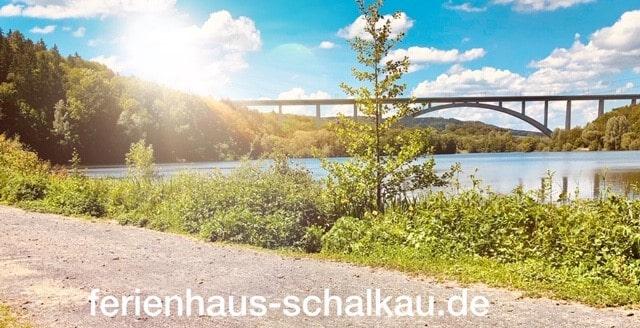 Froschgrundsee ICE Bogenbrücke