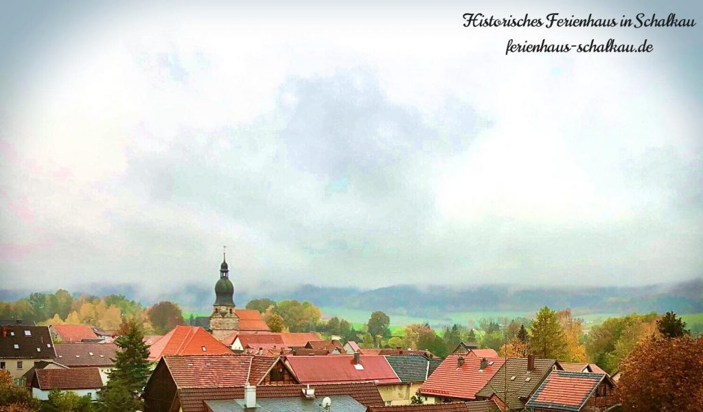 Johanniskirche in Schalkau - Blick über Stadt Schalkau