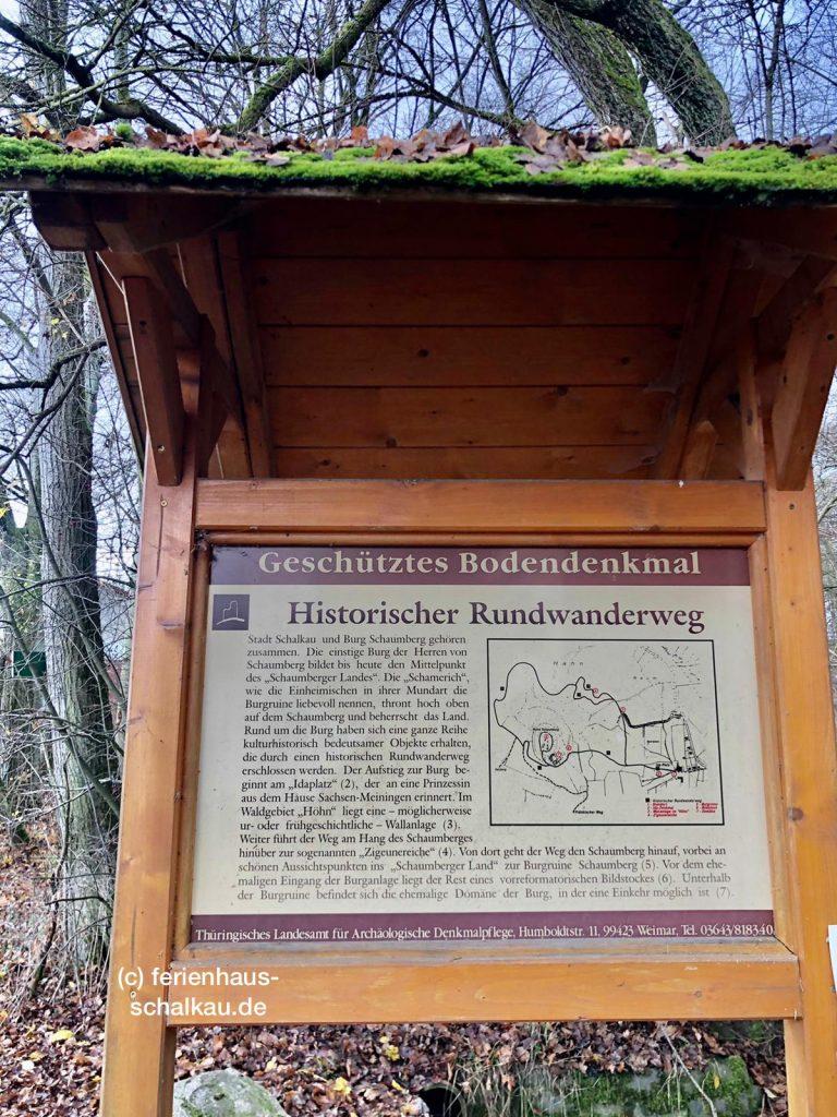 Historischer Rundwanderweg bei Schalkau